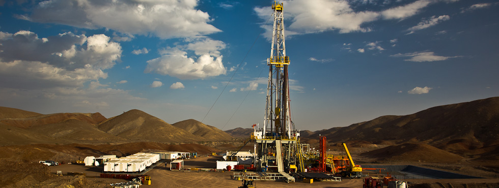 Drilling in the desert