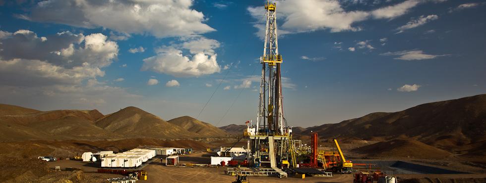 Drilling in the desert